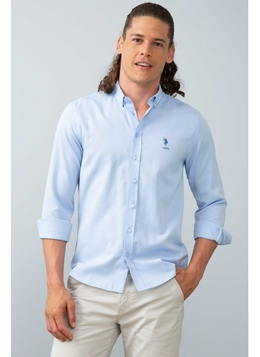 U.S. Polo Assn. Gömlek Mavi